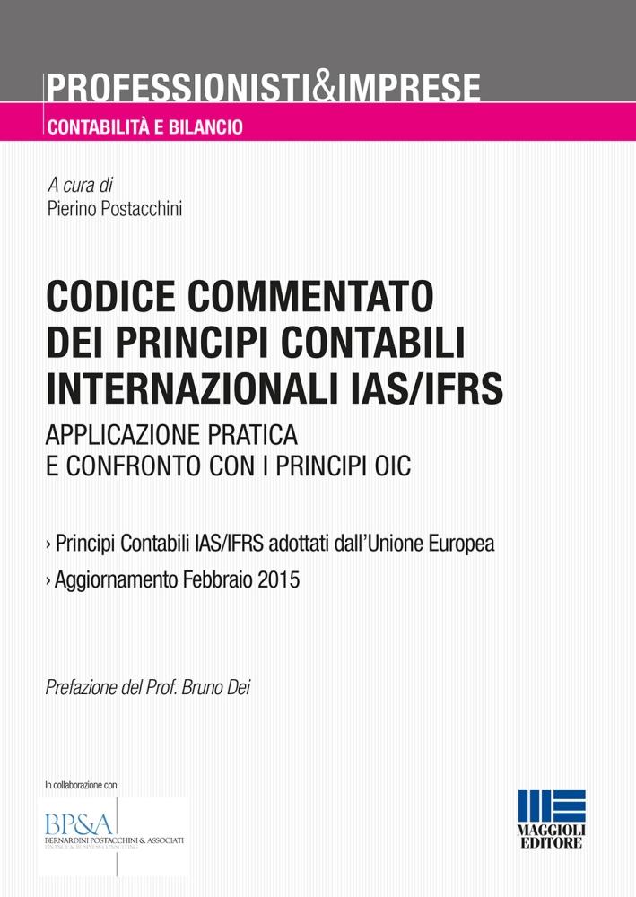 Codice commentato dei principi contabili internazionali IAS/IFRS