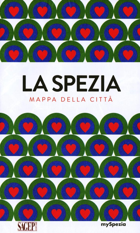 La Spezia. Mappa della città