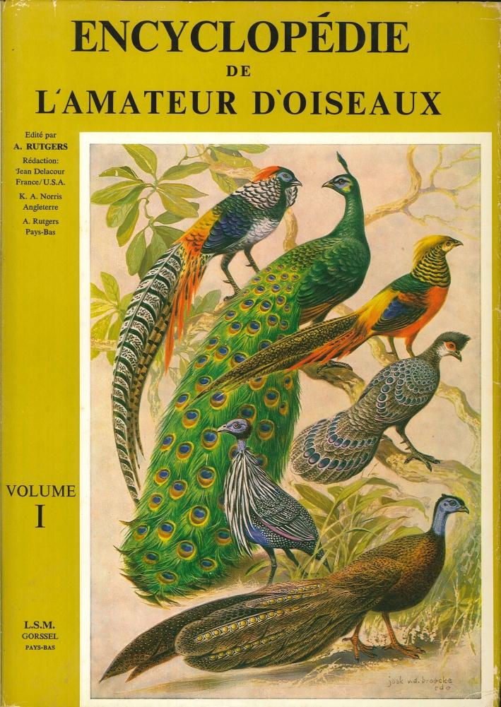 Encyclopédie De l'Amateur d'Oiseaux