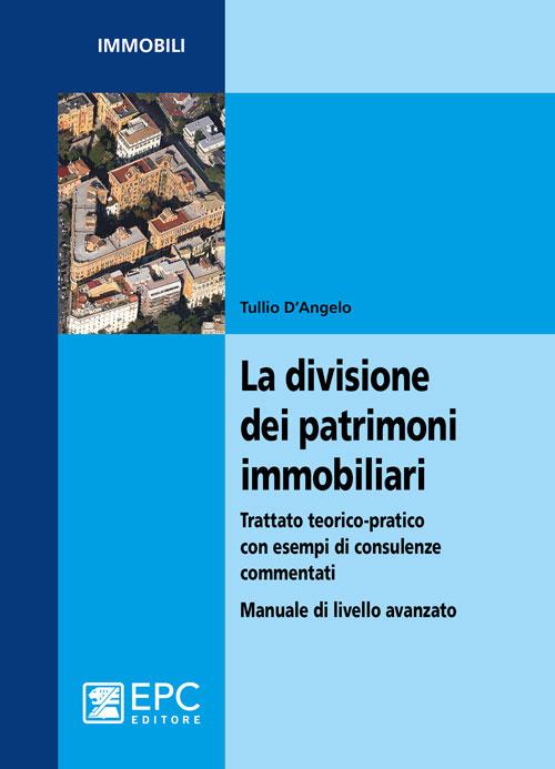 La divisione dei patrimoni immobiliari. Trattato teorico-pratico con esempi di consulenze commentati. Manuale di livello avanzato.