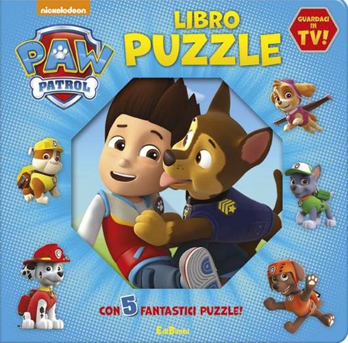 Libro Puzzle. Paw Patrol