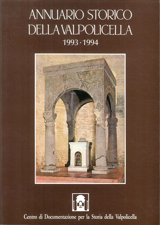 Annuario storico della Valpolicella 1993-1994