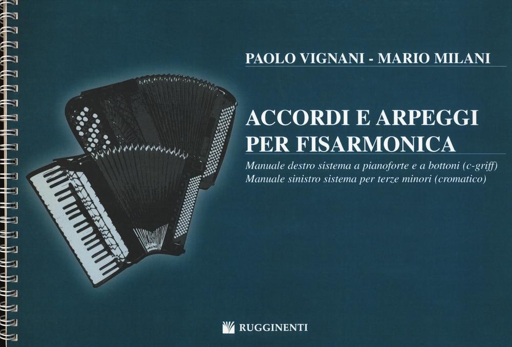 Accordi e Arpeggi per Fisarmonica - Vignani, Paolo - Milani