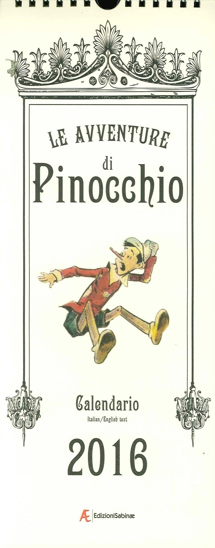 Le avventure di Pinocchio. Calendario 2016