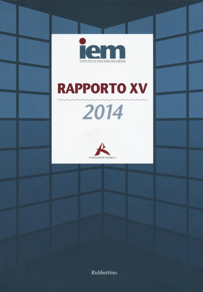 Rapporto XV 2014