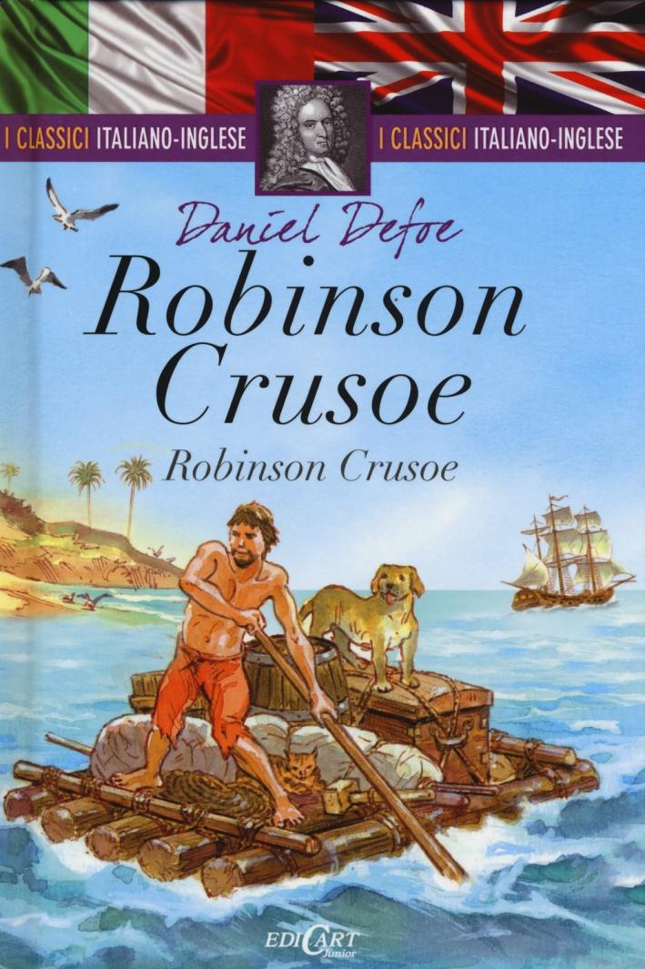 Robinson Crusoe. Testo inglese a fronte