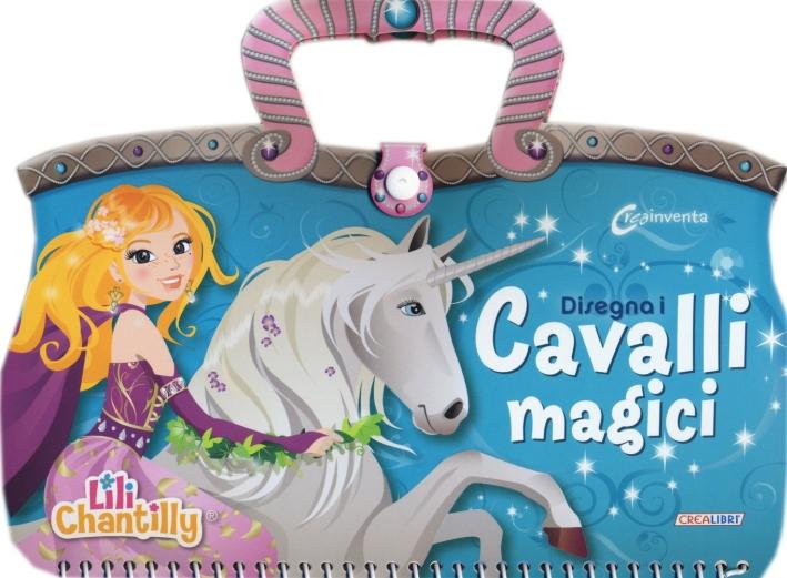 Disegna i cavalli magici. Con adesivi. Ediz. illustrata