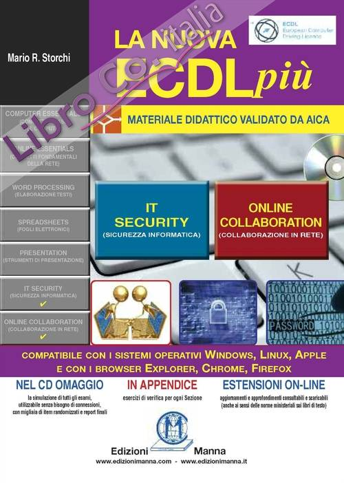 La nuova ECDL. IT Security e online collaboration