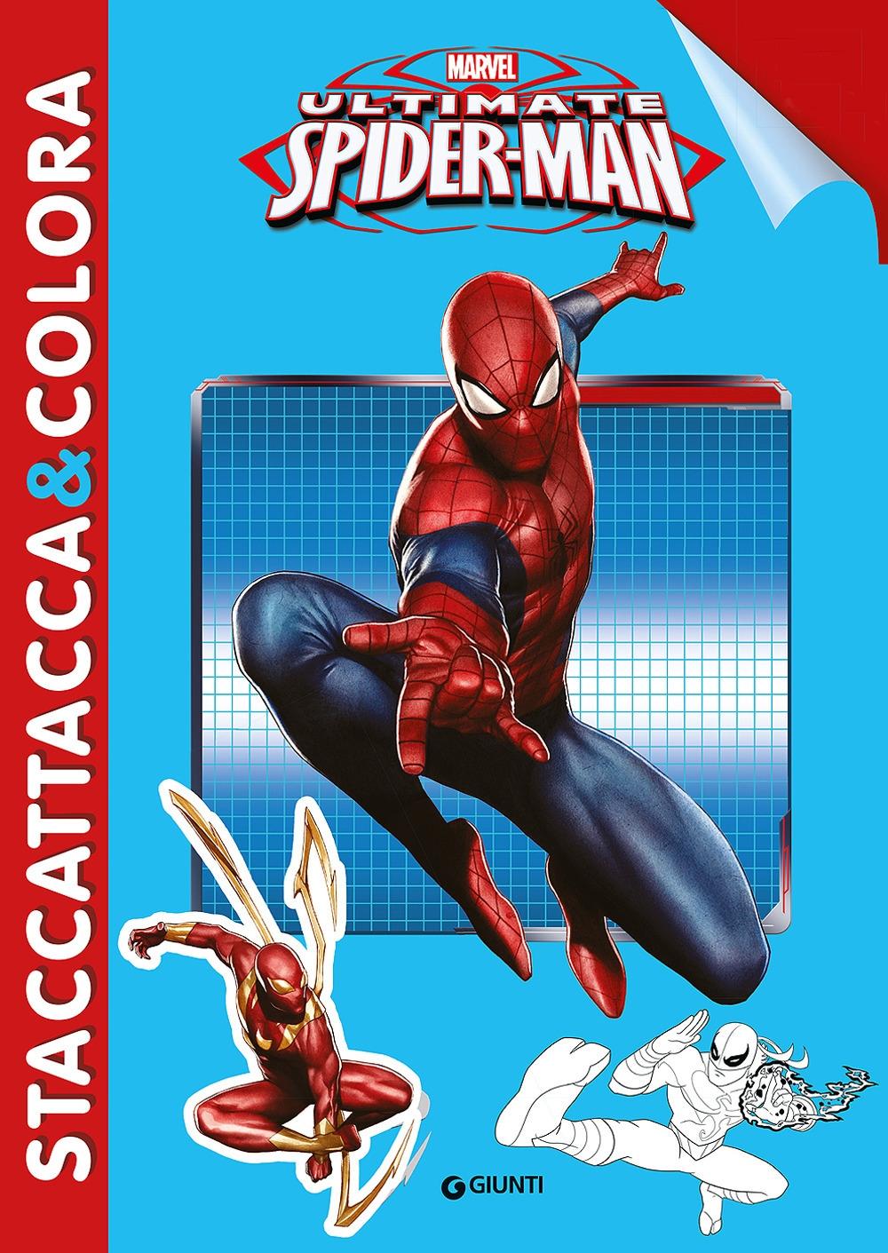 Ultimate Spider-Man. Con adesivi