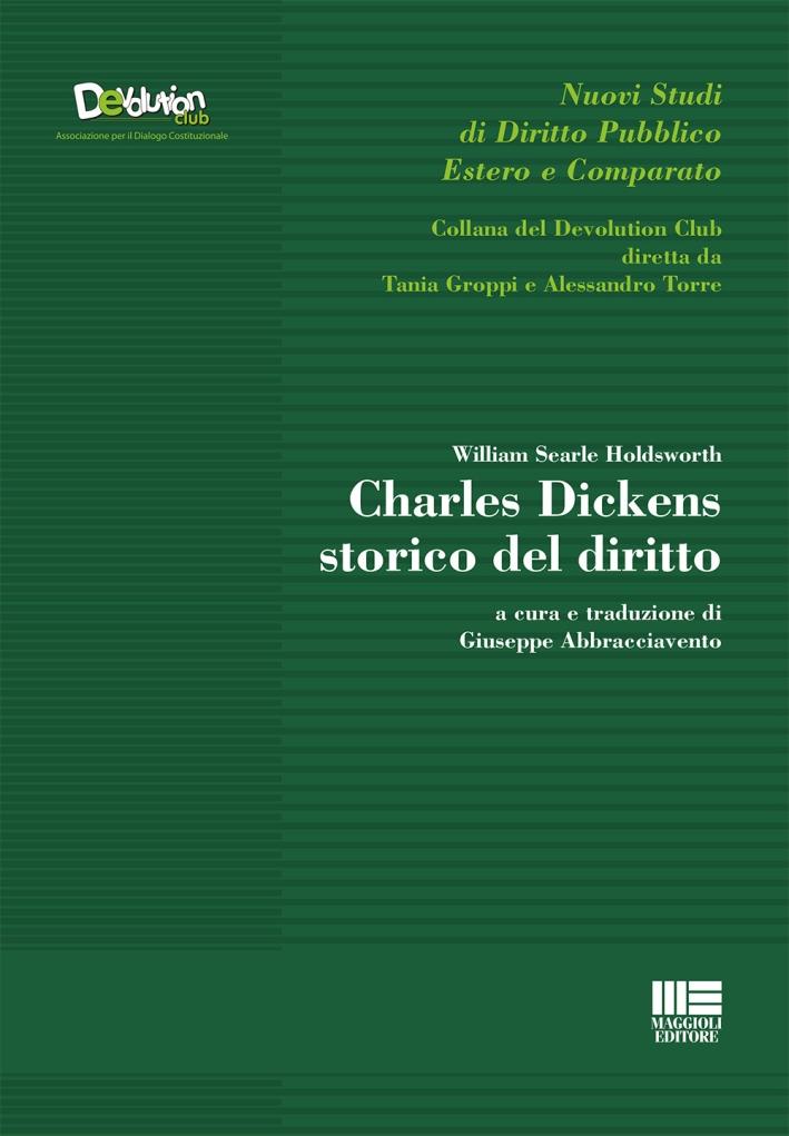 Charles Dickens storico del diritto