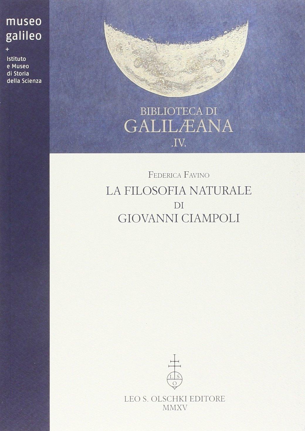 La filosofia naturale di Giovanni Ciampoli