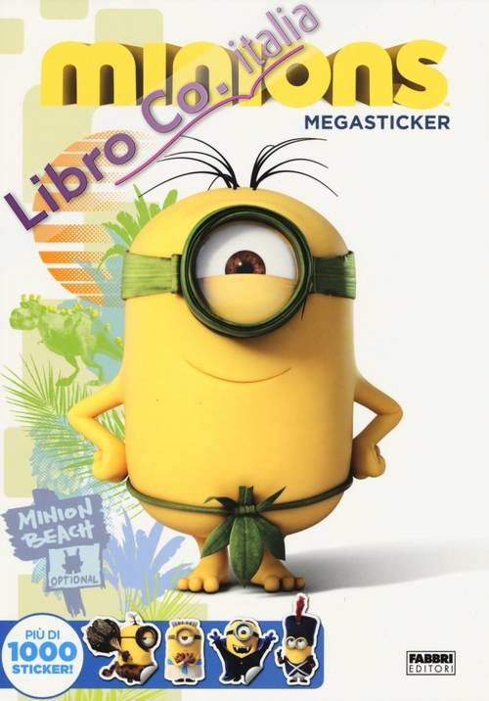 Minions. Megasticker. Ediz. illustrata