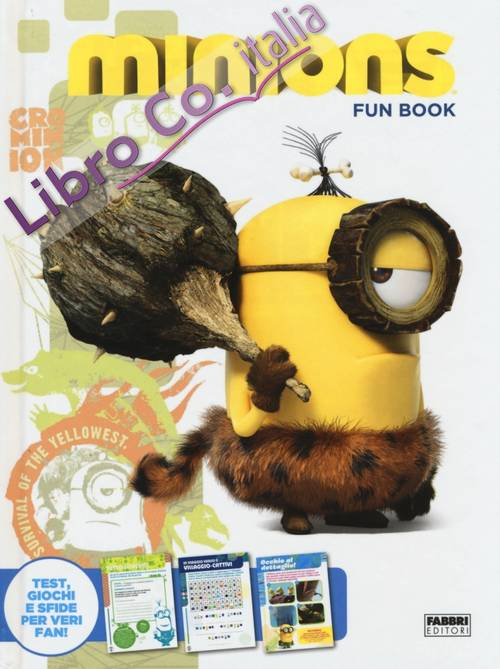 Minions. Fun book. Con adesivi. Ediz. illustrata