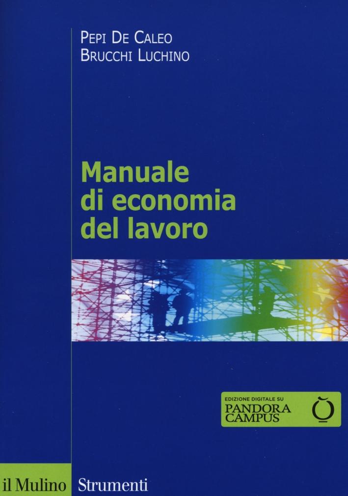 Manuale di economia del lavoro
