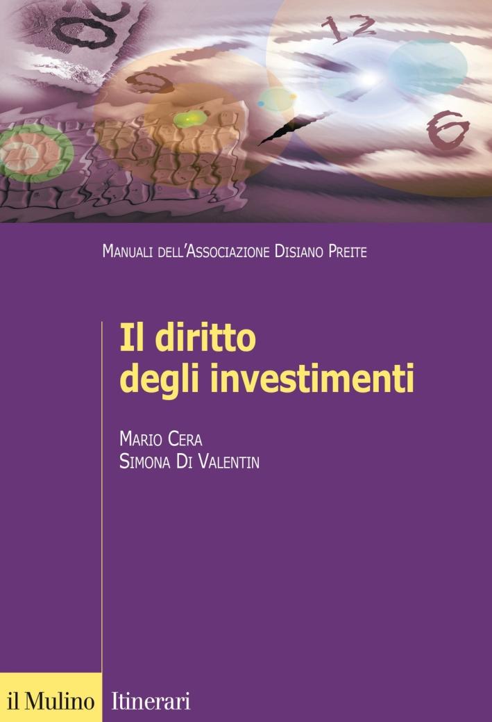 Il diritto degli investimenti