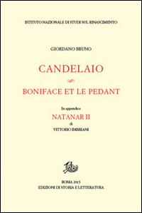 Candelaio-Boniface et le Pédant