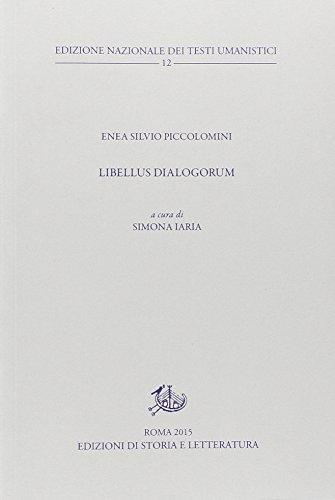 Libellus dialogorum. Testo latino a fronte