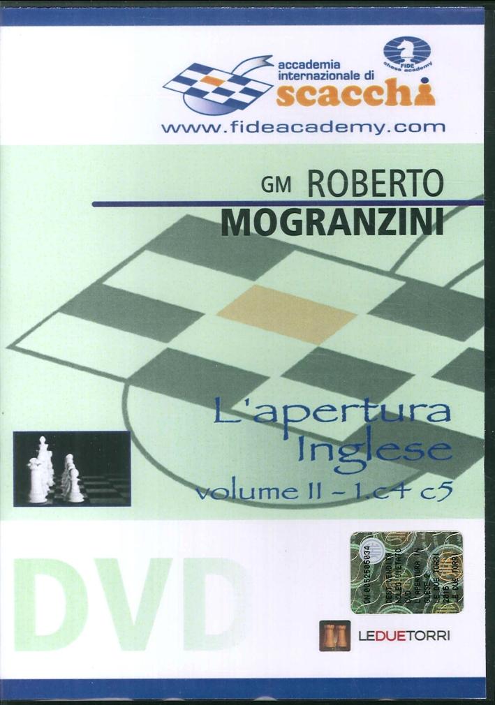 L'apertura inglese 1.c4 e5. DVD. Vol. 2.