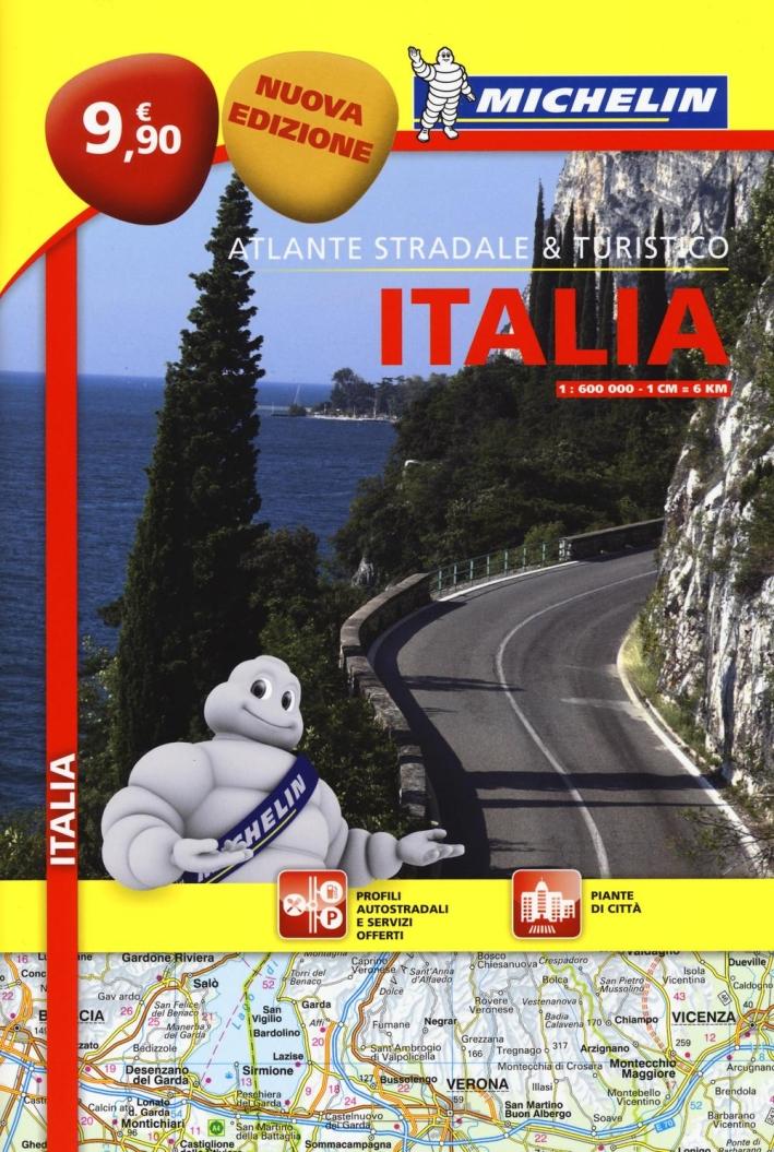 Italia. Atlante stradale e turistico 1:600.000