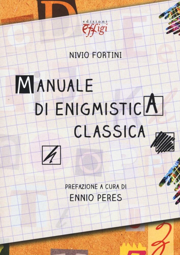 Manuale di enigmistica classica.