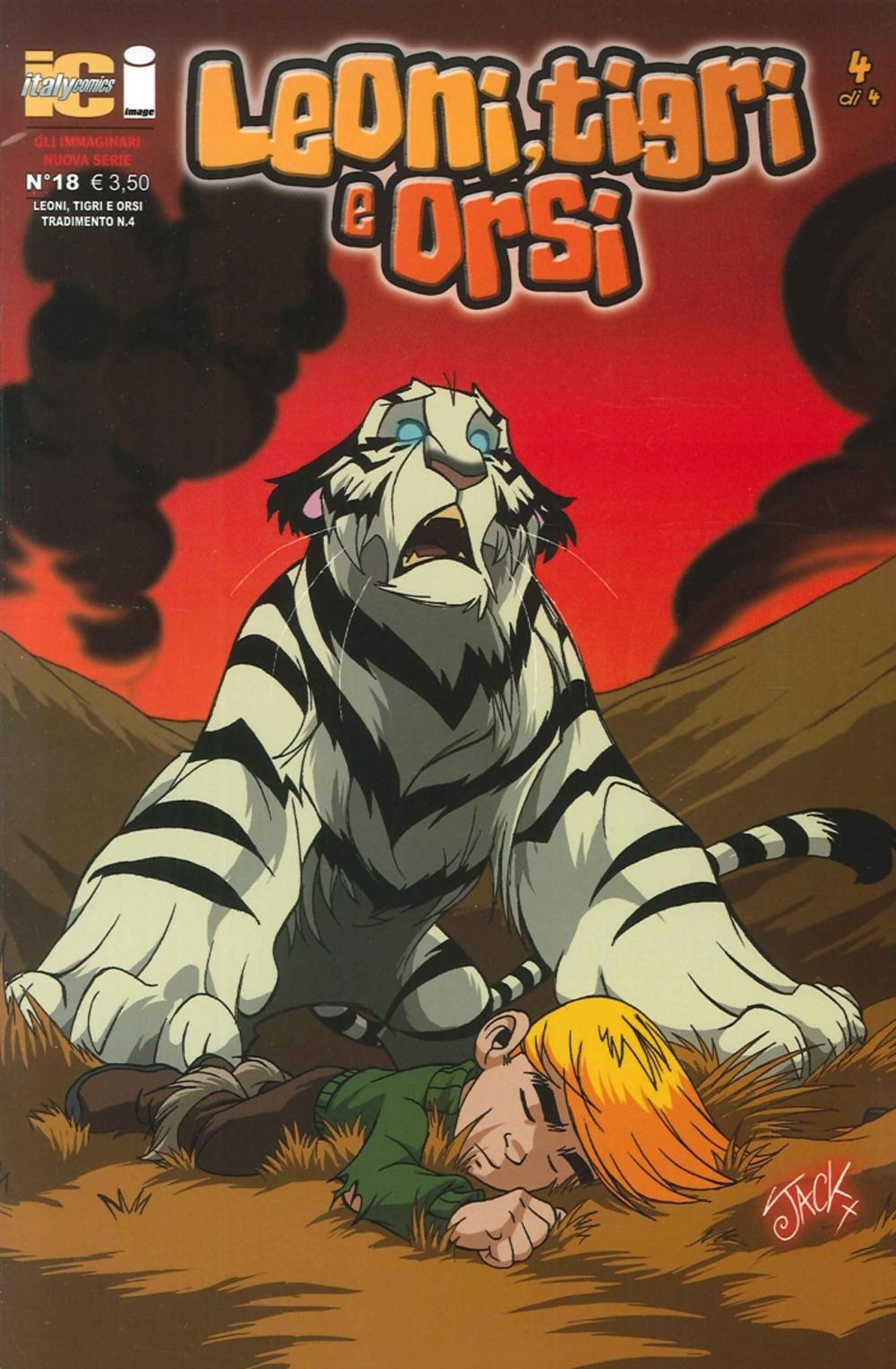 Gli immaginari II nr. 18. Leoni, tigri e orsi. Vol. 4