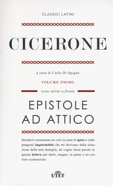 Epistole ad Attico. Testo latino a fronte. Con e-book