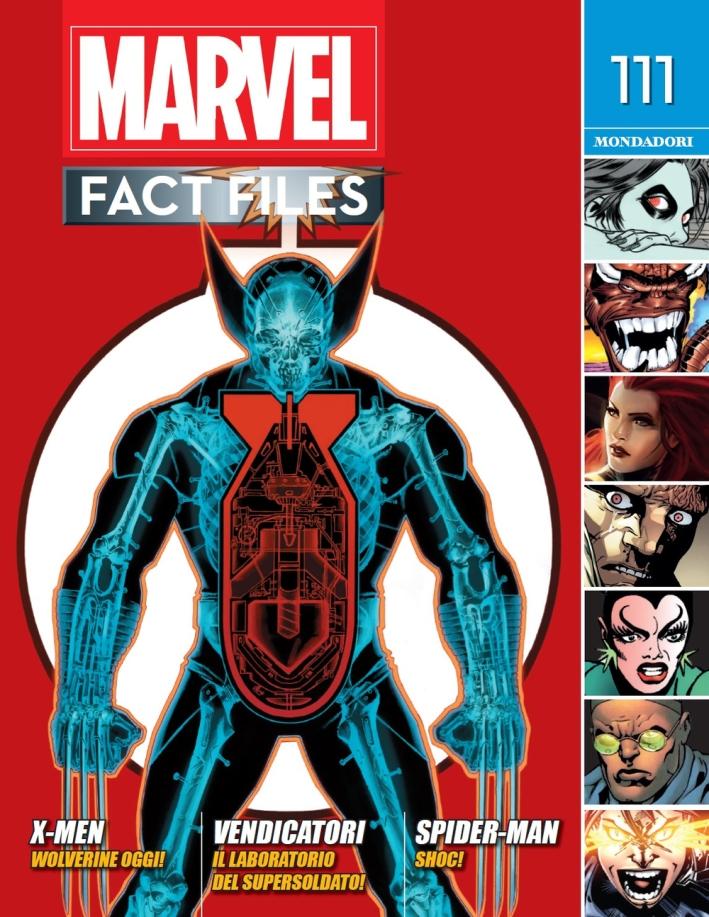 Marvel fact files. Vol. 58: 111-112
