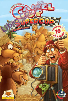 Camel Up Supercup. [Espansione per Camel Up]