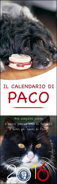 Il Calendario di Paco 2016