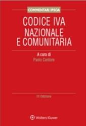 Codice IVA nazionale e comunitaria commentato.