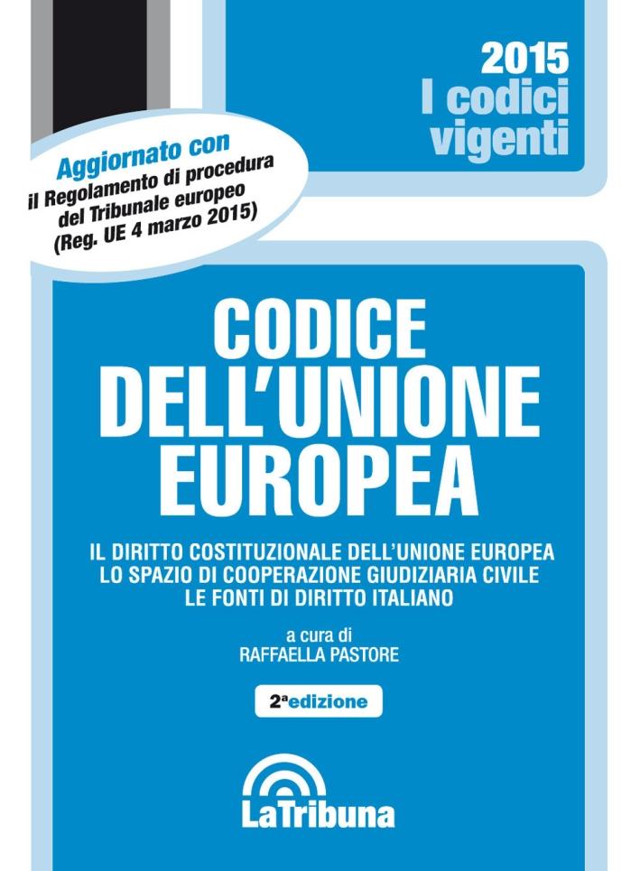 Codice dell'Unione Europea.