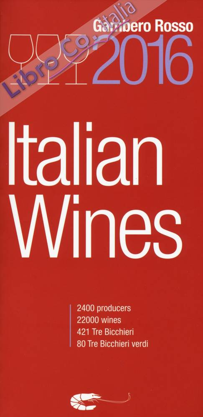 Italian wines 2016.