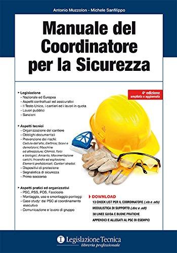 Manuale del coordinatore per la sicurezza
