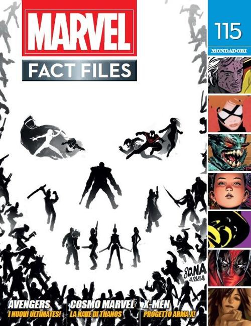 Marvel fact files. Vol. 60: 115-116