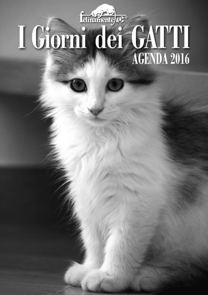 I giorni dei gatti. Agenda 2016