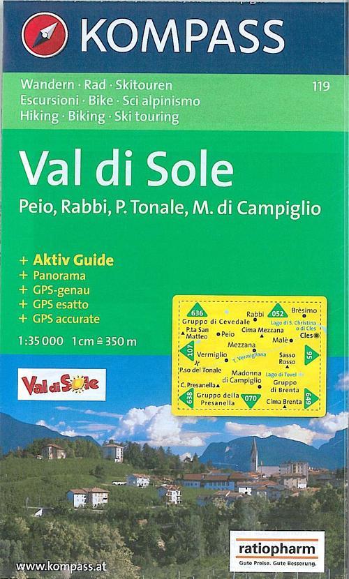 Carta escursionistica n. 147. Trentino, Veneto. Alta Val di Non, Le Maddalene 1:25000. Adatto a GPS. Digital map. DVD-ROM