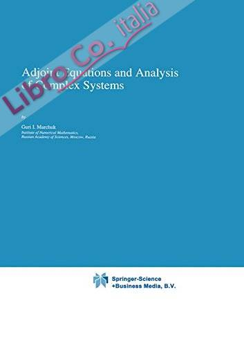 Adjoint Equations and Analysis of Complex Systems
