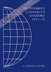DPCE. Rivista di diritto pubblico comparato ed europeo (2014). Vol. 4