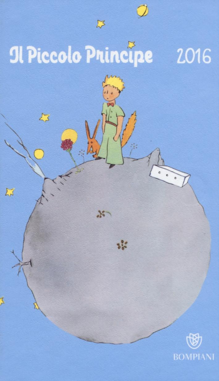Il Piccolo Principe. Agenda 2016