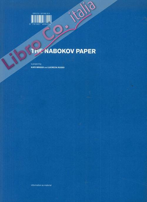 The Nabokov Paper. Information as material