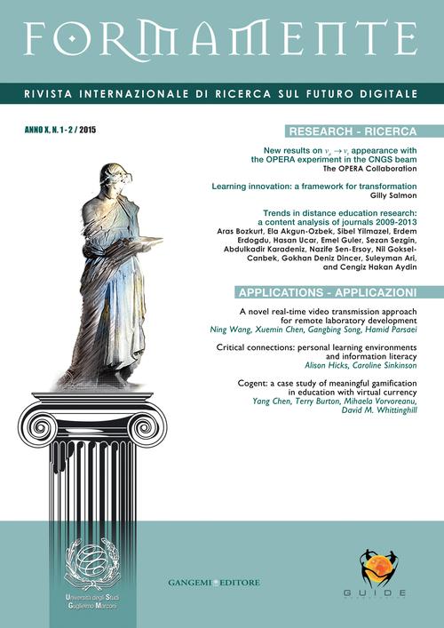 Formamente. Rivista internazionale sul futuro digitale (2015). Ediz. italiana e inglese vol. 1-2