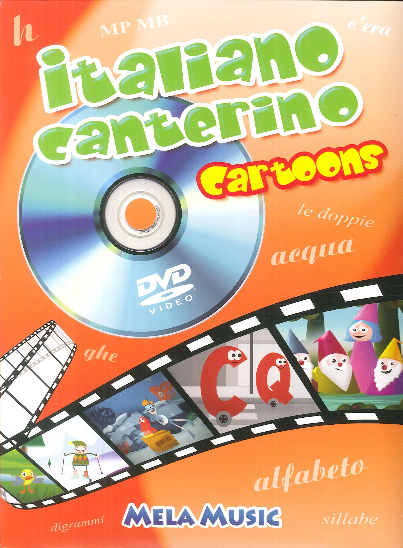 Italiano canterino cartoons. Con DVD