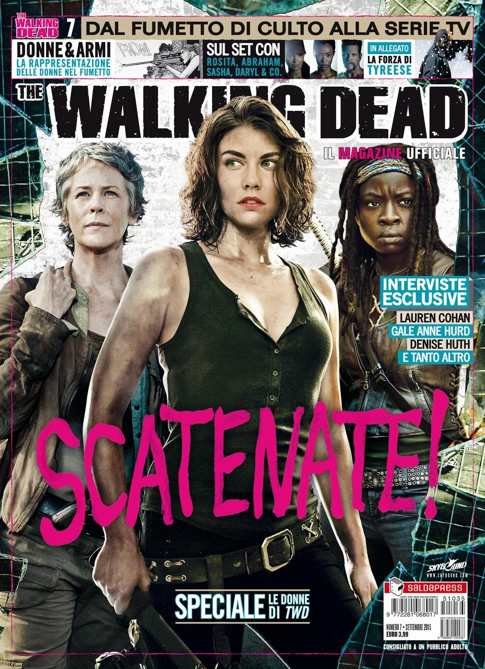 Il Magazine Ufficiale. The Walking Dead. Vol. 7 Donne e Armi. In Allegato - la Forza di Tyreese.
