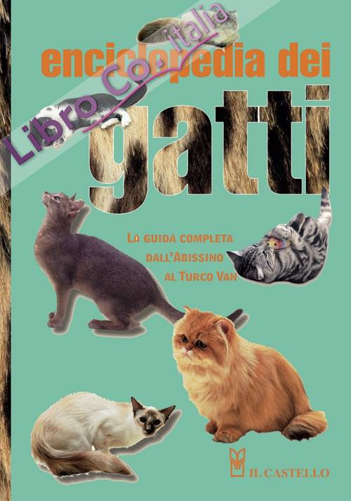 Enciclopedia dei gatti. La guida completa dall'Abissino al Turco Van. Ediz. illustrata