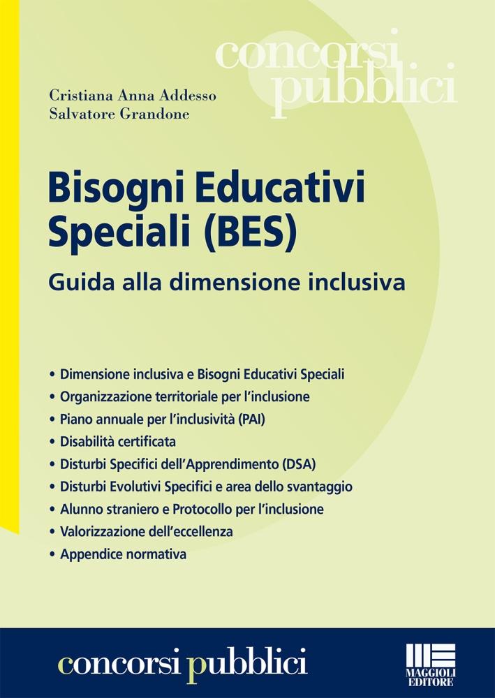 Bisogni Educativi Speciali (Bes)