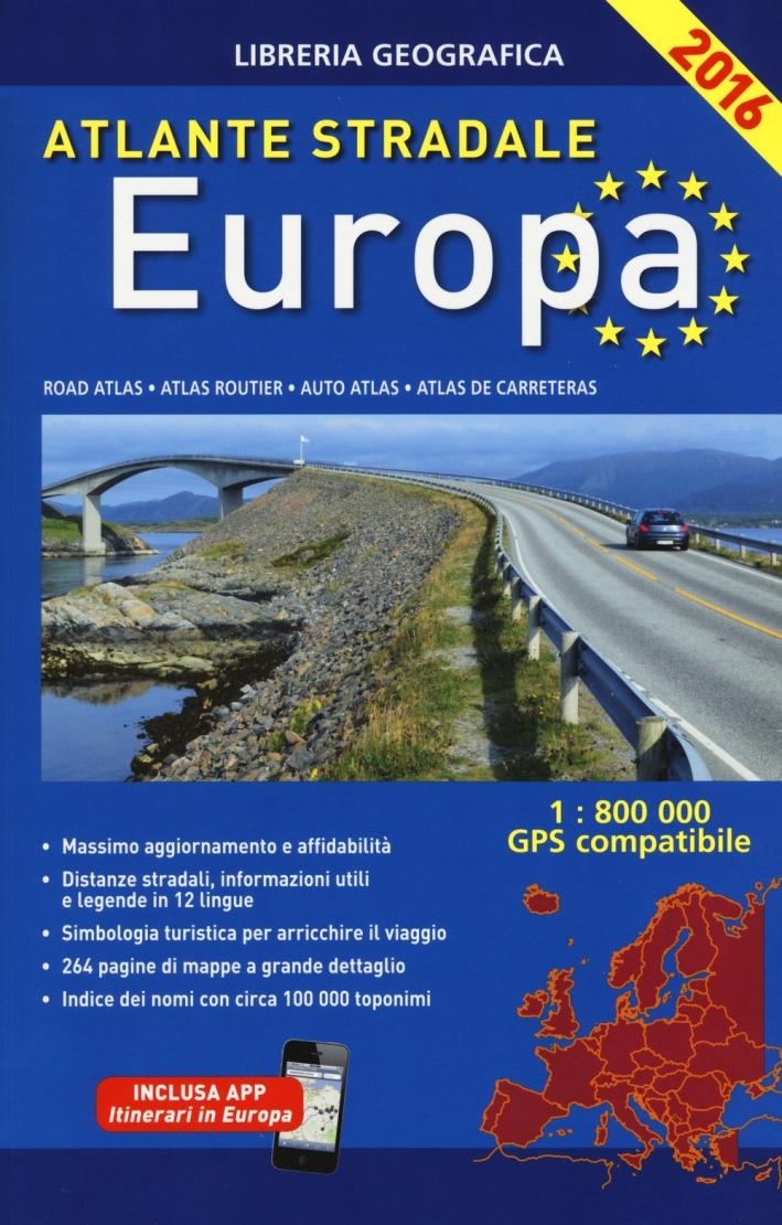 Atlante stradale. Europa 1:800.000.