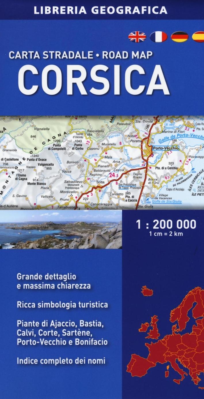 Corsica 1:200.000.