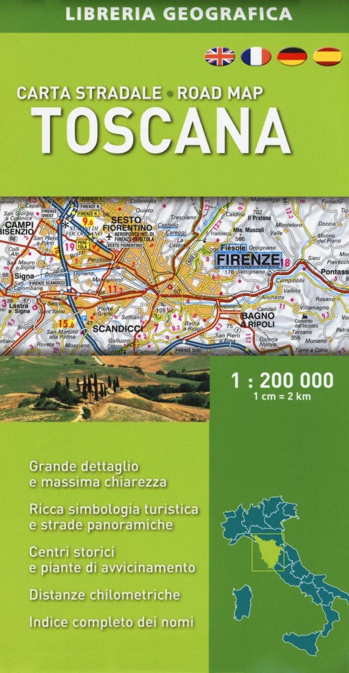Toscana 1:200.000