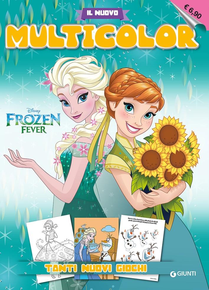 Frozen fever. Il nuovo multicolor.