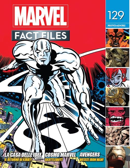Marvel fact files. Vol. 67: 129-130